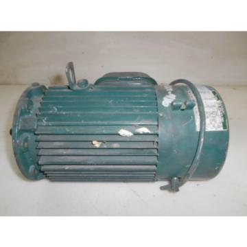SUMITOMO 1 HP 1750  RPM  230-460V V  60 HZ  3 PH  INDUCTION MOTOR W/ BRAKE  USED