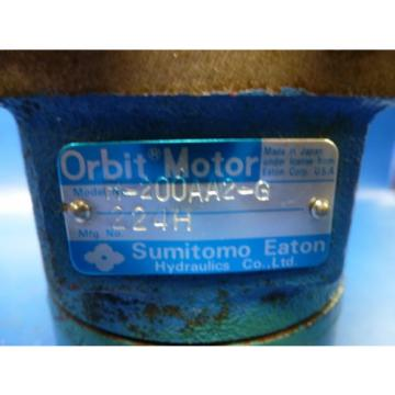 SUMITOMO EZTON H-200AA2-G H200AA2G ORBIT MOTOR