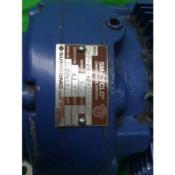 SM-CYCLO TC-F/FB-1B 3-PHASE INDUCTION MOTOR SUMITOMO CNHM-08-4095YA-B-21