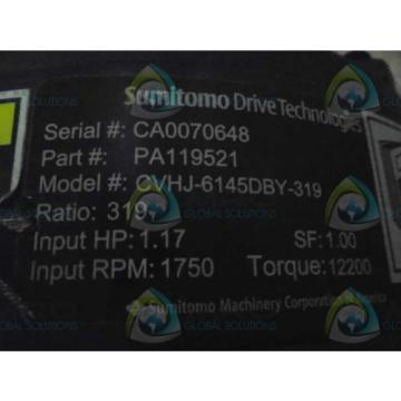 SUMITOMO DRIVE TECHNOLIGIES PA119521 MOTOR  Origin NO BOX