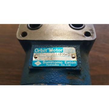 Sumitomo Eaton Hydraulic Orbit Motor, H-070BA4FM-G, Used, WARRANTY