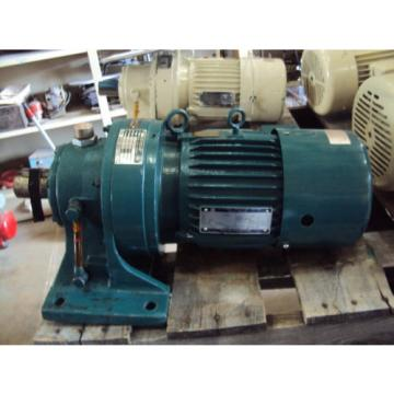 SUMITOMO SM-CYCLO HMS 1845 CLASS 1 WITH 3 PH TOSHIBA MOTOR RPM 1735 1 HP  USED