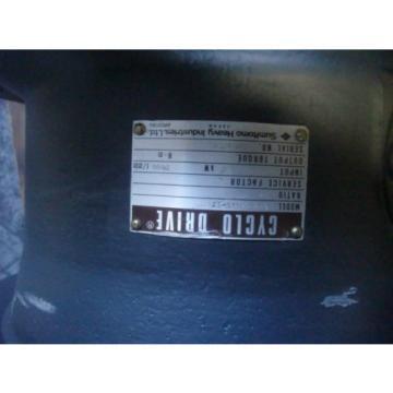 SUMITOMO HEAVY CYCLO GEARBOX   CHVM-4175-17