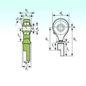 Self-Aligning Bearings TSM 12-00 BB-E ISB