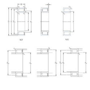 Cylindrical Roller Bearings NCF28/630V SKF