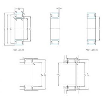 Cylindrical Roller Bearings NCF2332ECJB SKF