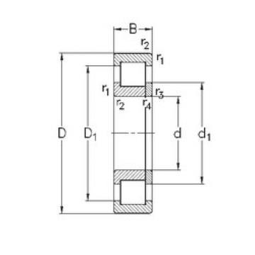 Bearing NUP2320-E-M6 NKE