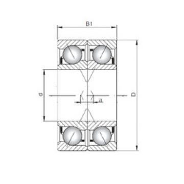 Bearing 7416 BDF ISO