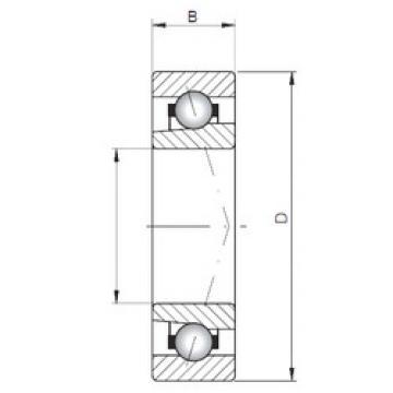 Angular Contact Bearings 71817 CTBP4 CX