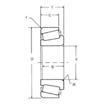 Tapered Roller Bearing 33012 FBJ