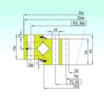 Thrust Roller Bearing ZR1.50.1997.400-1SPPN ISB