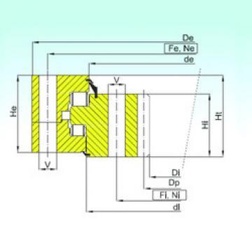 Thrust Roller Bearing ZR3.32.3150.400-1SPPN ISB