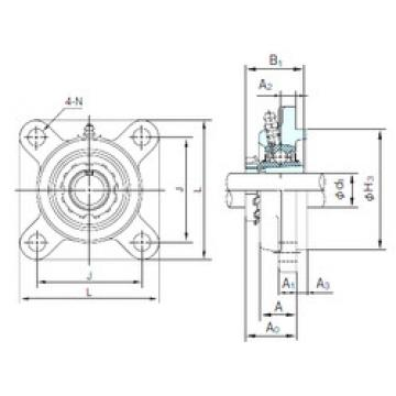 Bearing UKFS319+H2319 NACHI
