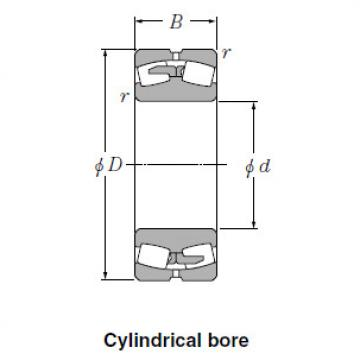 Spherical NTN Roller Bearings 23064BK