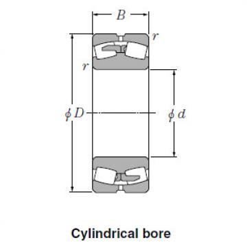 Spherical NTN Roller Bearings 24028BK30