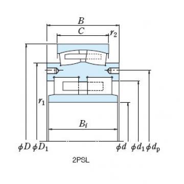 Mills NSK Roll Bearings ZR16-11