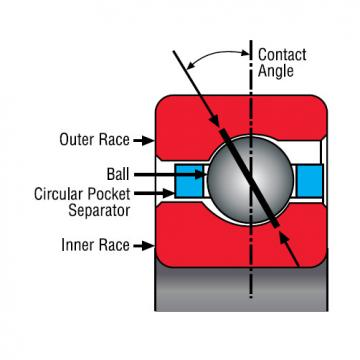 Kaydon Thin Section Bearing NA110CP0