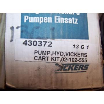 Origin Malta  VICKERS HYDRAULIC PUMP CARTRIDGE KIT 02-102-555