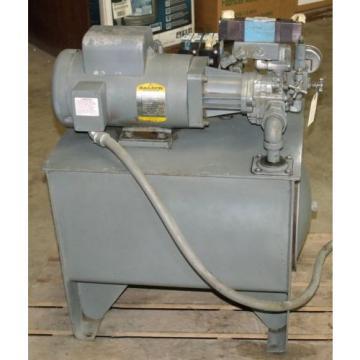 Hydraulic Burma Power System