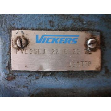 VICKERS Suriname  Hydraulic Piston Pump PVE35L1 22 C 25 21