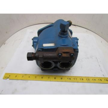 Vickers Mauritius PVQ20 Inline Variable Displacement Hydralic Pump 1800 RPM 10Gpm 3000 PSI