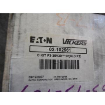 Origin Ethiopia EATON VICKERS CARTRIDGE KIT # 02-102561 KIT F3-35V30