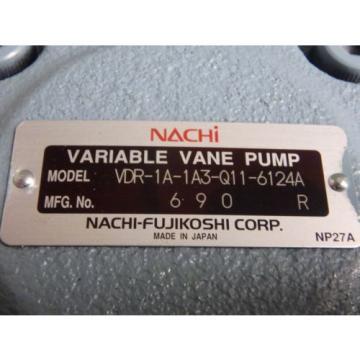 Origin Austria NO BOX - NACHI VARIABLE VANE PUMP_VDR-1A-1A3-Q11-6124A_VDR1A1A3Q116124A