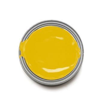 IRON Malta GARD 1L Two Pack Paint KOMATSU YELLOW Excavator Loader Bucket Attach Dozer