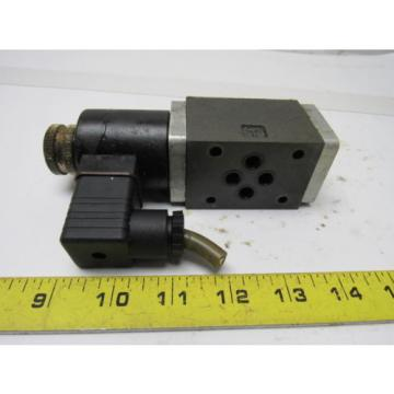 Nachi Somali  SA-G01-H3X-C1-11 Solenoid Operated Control Hydraulic Valve