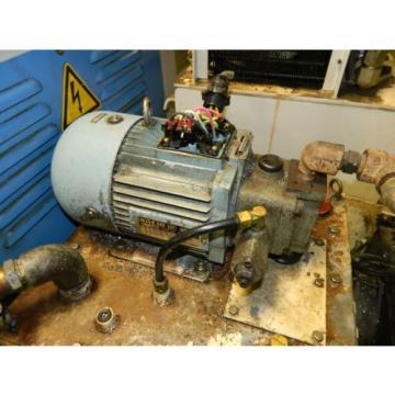 Nachi Peru 2 HP 15 kW Hydraulic Unit, 220V, Nachi Pump UVN-1A-1A3-15-4-Q17-6063A