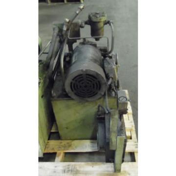 Showa Mozambique 3 HP Hydraulic Unit, PVU-60-04-HX365, Used,  WARRANTY, Nachi Motor amp; Pump