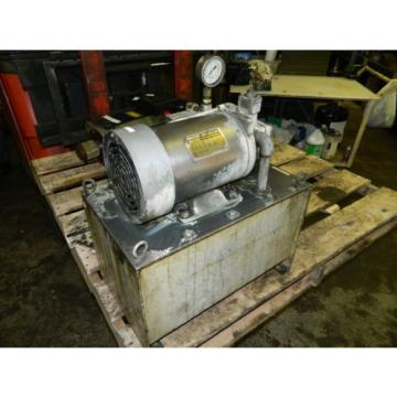Nachi Tonga  2 HP 15kW Hydraulic Unit w/ Tank, VDS-0B-1A3-U-10, Used, WARRANTY