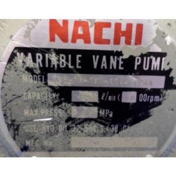 NACHI Nicaragua VARIABLE VANE PUMP, VDR-1A-1A3-Q11-6124A