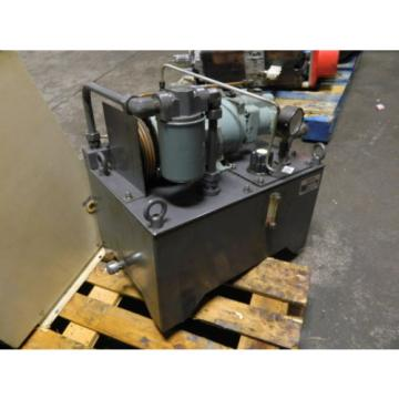 Nachi Paraguay 2 HP 15kW Complete Hyd Unit w/ Tank, UPV-1A-16N1-15A-4-2535K, Used
