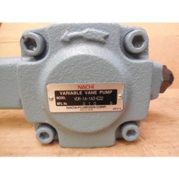 Nachi CzechRepublic Variable Vane Pump VDR-1A-1A3-E22 VDR1A1A3E22 origin
