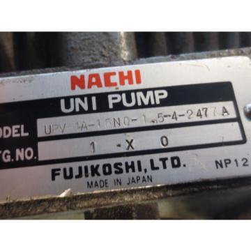 MEIDENSHA Grenada MEIDEN HYDRAULIC MOTOR LTF70-NR NACHI PUMP UPV-1A-16N0-15-4-2477A