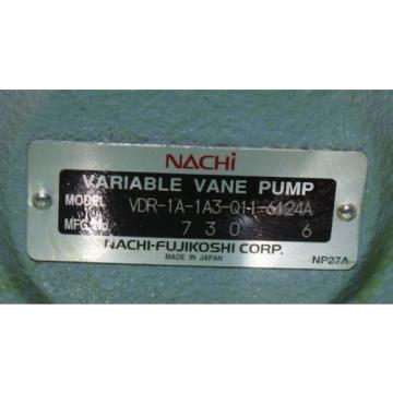 Nachi, Lesotho VDR-1A-1A3-Q11-6124A, Variable Vane Pump Hydraulic Origin