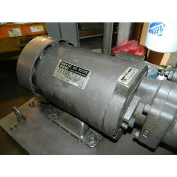 Nachi CookIs. 3 HP 22kW Complete Hyd Unit, UPV-1A-22N1-22-4-Z-12, 1990, Used