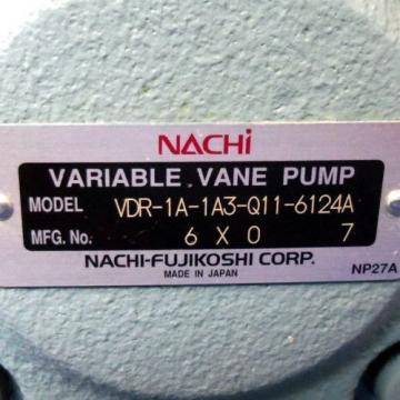 NACHI Peru VARIABLE VANE PUMP VDR-1A-1A3-Q11-6124A Origin