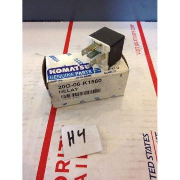 New Guyana  OEM Komatsu Genuine Parts Relay 20G-06-K1560 Warranty! Fast Shipping!