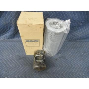 GENUINE France  KOMATSU HYDRAULIC FILTER 07063-01100 & OIL FILTER 6003118321  FITS WA120