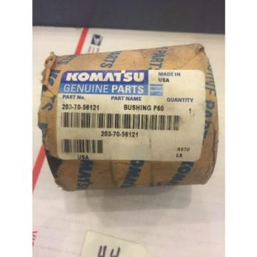 New Honduras  OEM Genuine Komatsu PC Series Excavator Boom Bushing 203-70-56121 Warranty