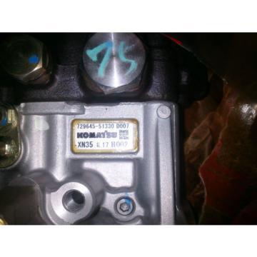Fuel Belarus Injection Pump KOMATSU Skid Loader SK714 729645-51330