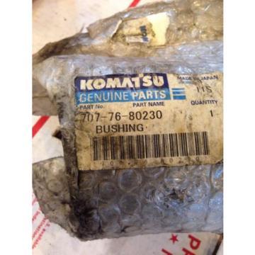 New Hongkong OEM Komatsu Excavator Genuine Parts Bushing 707-76-80230 Fast Shipping!