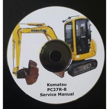 KOMATSU Russia  PC27R-8 SERVICE MANUAL * FREE UK POSTAGE *