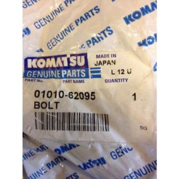 New Suriname  Komatsu OEM Bolt 01011-62095 Warranty! Fast Shipping!