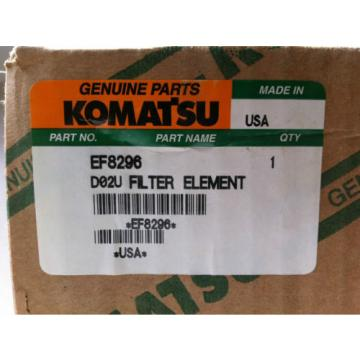 NEW Mauritius  KOMATSU EF8296 HYDRAULIC FLUID FILTER CARTRIDGE (SET OF 9)
