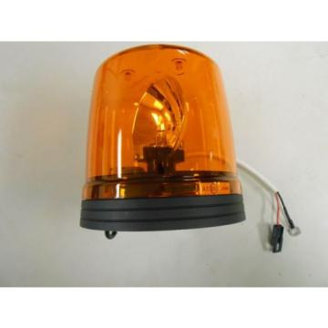597-08-0081 Russia  KOMATSU 24V ROTATING BEACON LIGHT AMBER ELEKTRA LBO-2000