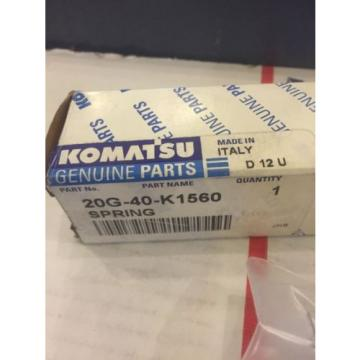 New Honduras  OEM Genuine Komatsu PC Series Excavators Spring 20G-40-K1560 Warranty