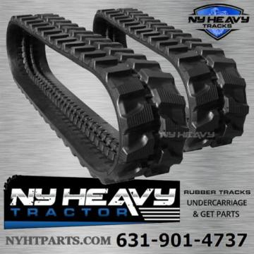 TWO Oman  NY HEAVY RUBBER TRACKS FITS KOMATSU PC20-6 300X52.5X80 FREE SHIPPING